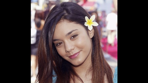 """Hudgens came to fame as a Disney Channel star in 2006 but soon stepped away from her wholesome """"High School Musical"""" roots."""