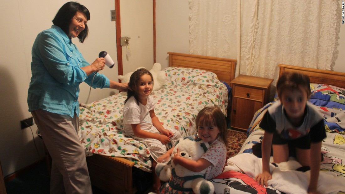 In Concon, Chile, the family met Monica Ahumado, who, despite tragedy in her life, opened up her home.