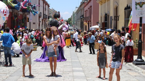 After an unexpected delay in Guatemala, the Walkers were forced to skip Belize and go directly to Mexico instead. In Oaxaca, they joined the Assumption of the Virgin celebrations.