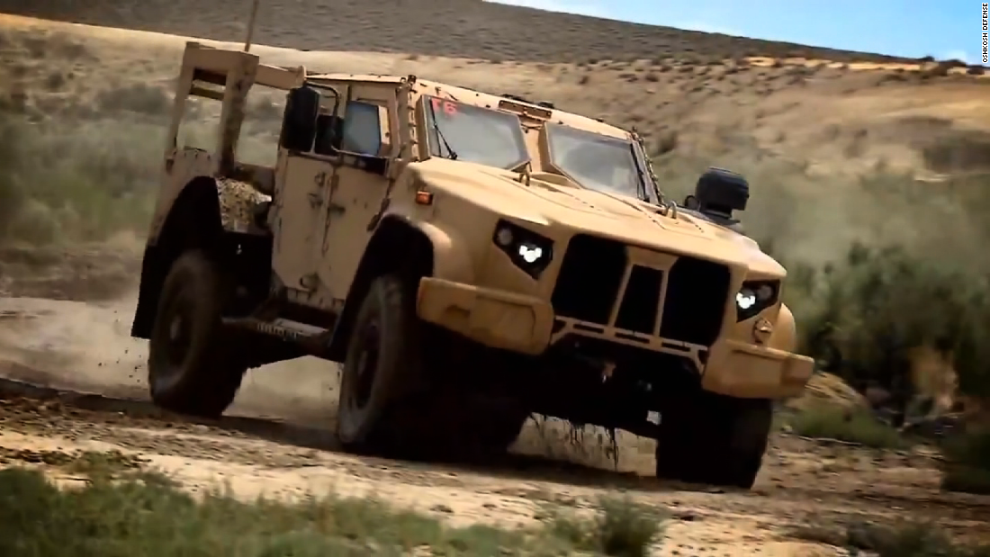 The request includes $735 million for 2,020 Joint Light Tactical Vehicles for the Army and Marines. The JLTVs are intended to replace Humvees.