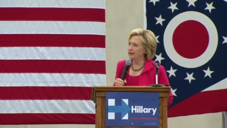 Clinton: 'Extreme views' hard to take from GOP candidates
