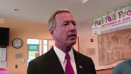 Martin O'Malley: Mistake for Dems to 'circle the wagon'
