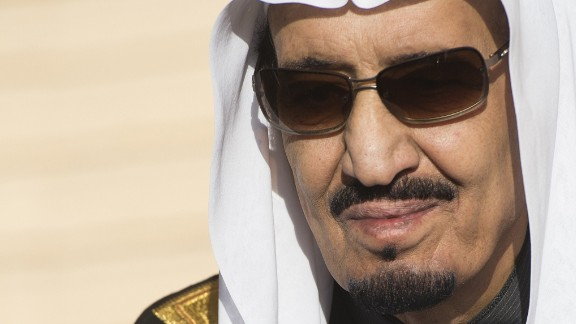 Saudi King Salman ascended to the throne in January 2015.