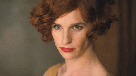 """The Danish Girl"" stars current best actor winner Eddie Redmayne (""The Theory of Everything"") as Lili Elbe, who underwent a sex-change operation in the early 1930s, when the process was very much experimental. The film is due out November 27."