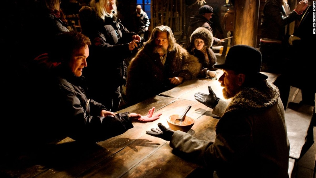 "<strong>""The Hateful Eight""</strong> finds director and writer Quentin Tarantino tackling the Western with the story of eight travelers thrown together during a blizzard. The cast includes Samuel L. Jackson, Kurt Russell and Jennifer Jason Leigh. It's due out December 25."