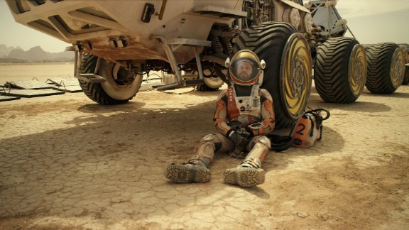 """The Martian"" stars Matt Damon as an astronaut marooned on Mars after his shipmates leave him behind. He has to survive for months while awaiting a rescue attempt. The film"