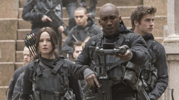 "In the battle between Panem and the rebels, who will win? That question will be settled in ""The Hunger Games: Mockingjay - Part 2,"" in which Jennifer Lawrence, left, plays ace archer Katniss Everdeen for (presumably) the last time. It came out November 20. Lawrence was recently named EW"