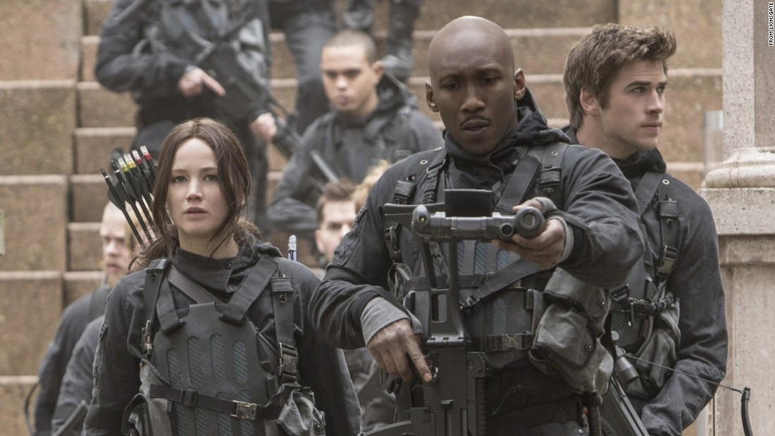 "In the battle between Panem and the rebels, who will win? That question will be settled in<strong> ""The Hunger Games: Mockingjay - Part 2,""</strong> in which Jennifer Lawrence, left, plays ace archer Katniss Everdeen for (presumably) the last time. It came out November 20. Lawrence was <a href=""http://www.ew.com/article/2015/11/24/ew-entertainer-year-jennifer-lawrence"" target=""_blank"">recently named EW's Entertainer of the Year</a>."