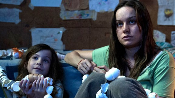 """Room"" is based on the Emma Donoghue book about a mother and her child held captive for several years. (It"