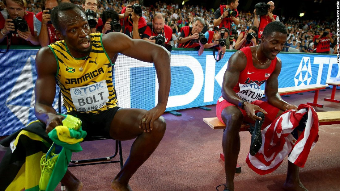 Gatlin had to settle for his second silver medal of the 2015 World Athletics Championships after missing out to Bolt in the 100m final as well.
