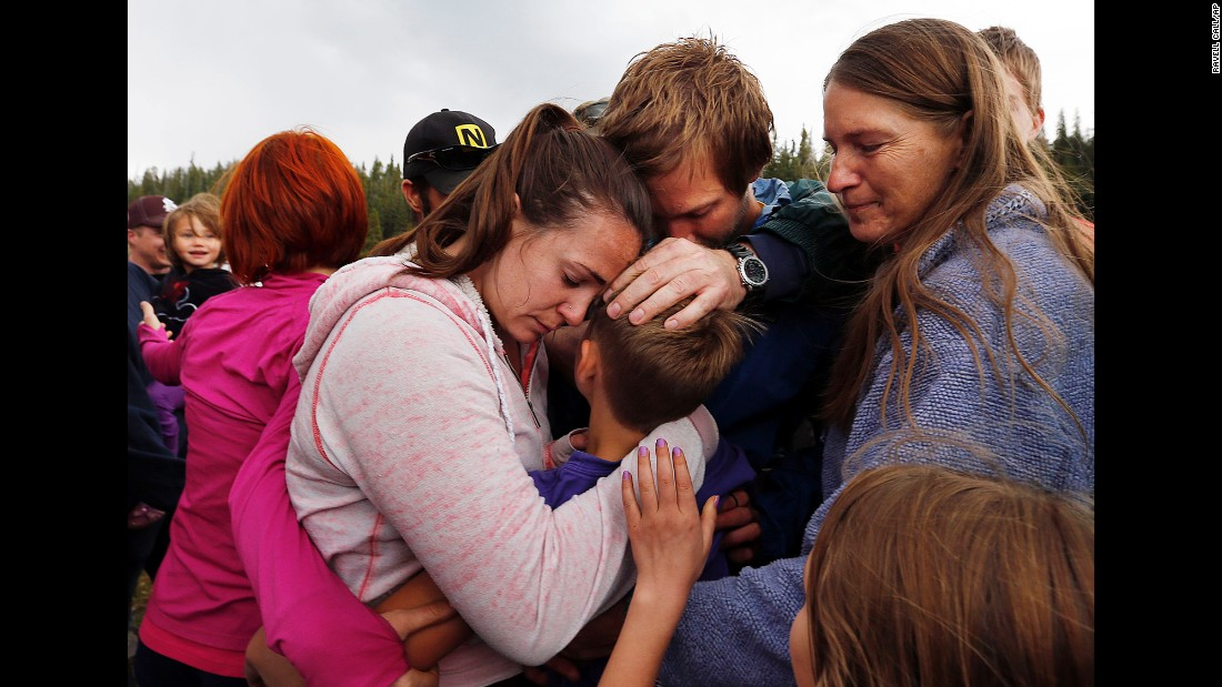 Malachi Bradley, a 10-year-old boy lost in Utah's Ashley National Forest, is reunited with his family on Monday, August 24. He was missing for 28 hours, but a dog picked up his scent and led search teams to him.