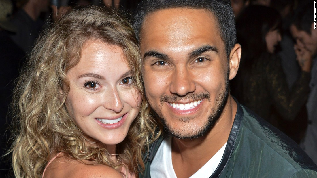 "Alexa and Carlos PenaVega are the first married couple to compete -- against each other! -- on the show. Alexa starred in the ""Spy Kids"" movies and in the ABC show ""Nashville."" She also starred on Broadway in the 2007 Tony-winning musical ""Hairspray."" Carlos, a singer/actor who starred in Nickelodeon's ""Big Time Rush,"" recently released his first solo single in Spanish, ""Electrico."""