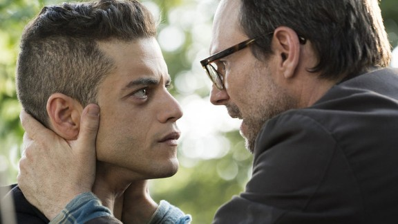 """""""Mr. Robot"""" star Rami Malek was nominated for lead actor in a drama along with Kyle Chandler (""""Bloodline""""), Bob Odenkirk (""""Better Call Saul""""), Matthew Rhys (""""The Americans""""), Liev Schreiber (""""Ray Donovan"""") and Kevin Spacey (""""House of Cards"""")."""