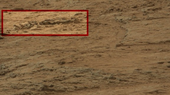 The Dinosaur Spine: To the uninitiated, it looks like series of rocks protruding from the ground. But alien hunters say it's a fossilized dinosaur spine.
