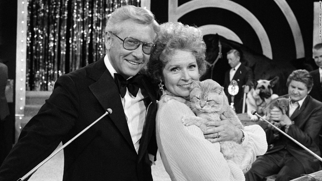White was married to Allen Ludden for 18 years. Ludden, who died in 1981, won her heart by giving her some earrings -- and a stuffed bunny. The two were active in animal charities.