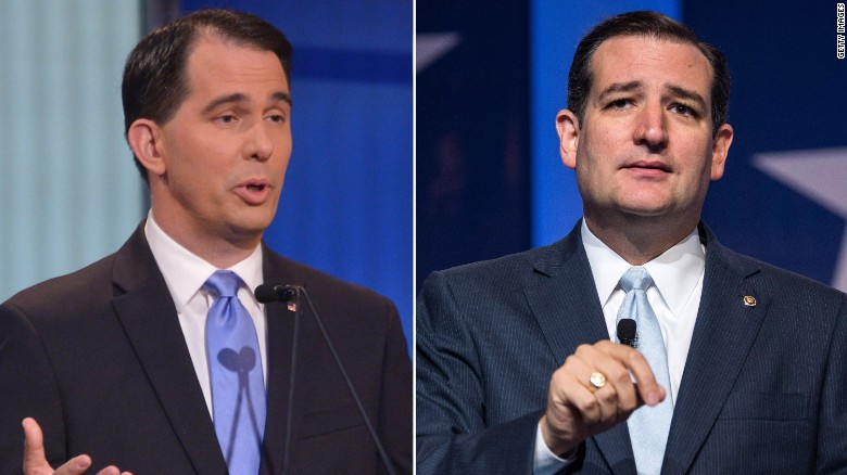 Wisconsin Gov. Scott Walker endorses Ted Cruz