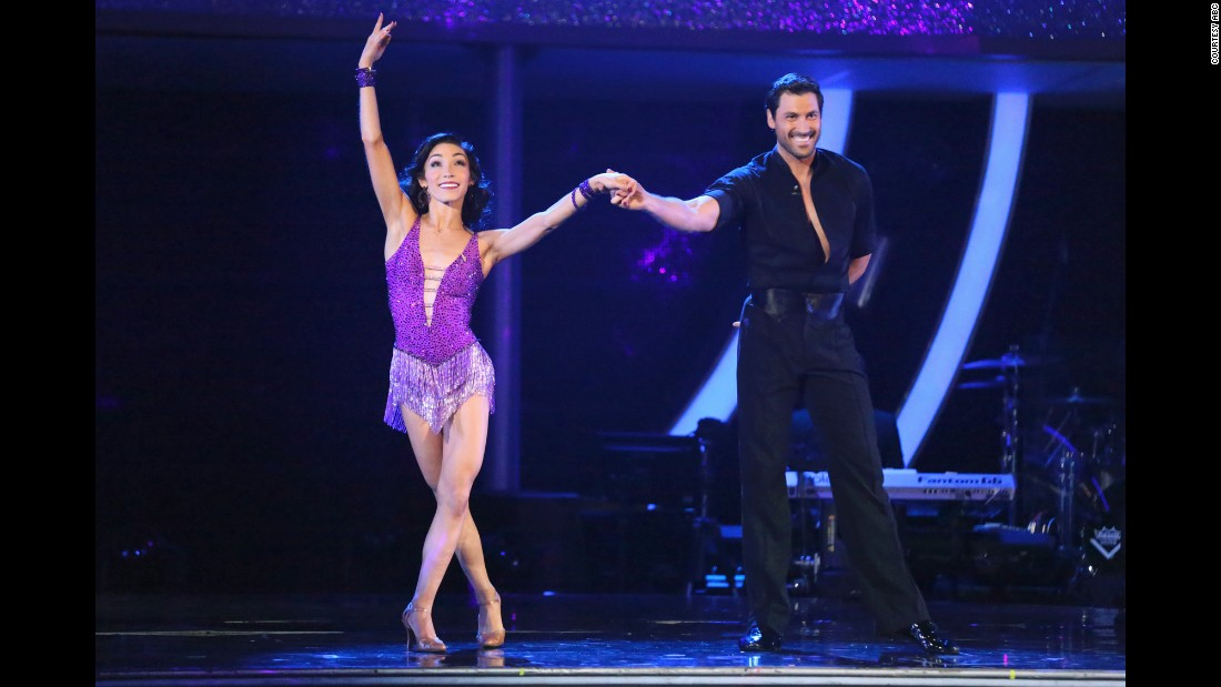 Olympic gold medal-winning ice dancer Meryl Davis and pro dancer Maksim Chmerkovskiy won season 18. Maksim is season 20 pro winner Val's older brother and retired from the show after the win.