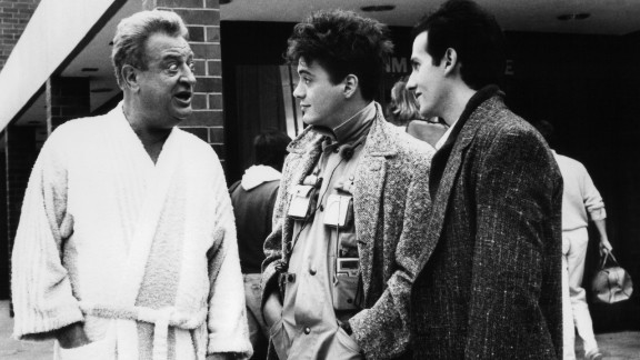 """In Rodney Dangerfield's 1986 romp """"Back to School,"""" the comic plays a rich businessman who returns to college along with his son."""