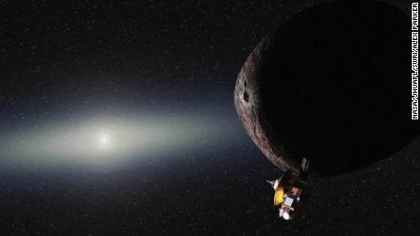 Pluto probe gets new assignment