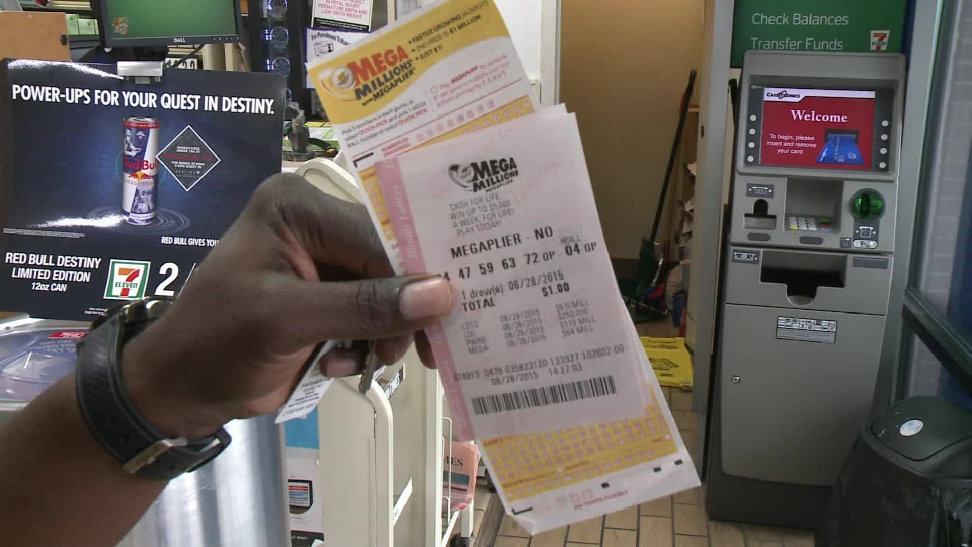 Why this lottery winner hasn't received his money yet