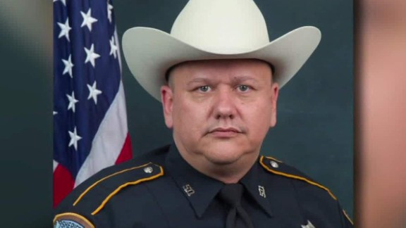 Harris County Sheriff's Deputy Darren Goforth was killed last year.