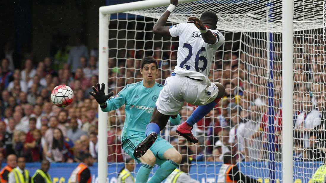But Palace were soon back in front as Sako cut the ball back for Joel Ward to restore the South London sides lead.<br />
