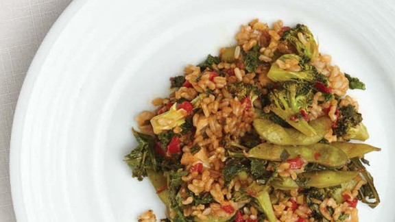 CLICK HERE FOR PRINTABLE RECIPE  Winning recipe from 2015 Healthy Lunchtime Challenge: Fizzle sizzle stir fry submitted by 12-year-old Eva Paschke of Michigan