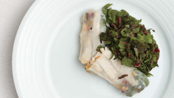 CLICK HERE FOR PRINTABLE RECIPE  Winning recipe from 2015 Healthy Lunchtime Challenge: Vegetable confetti spring rolls submitted by 8-year old Timothy Burke of Washington, D.C.