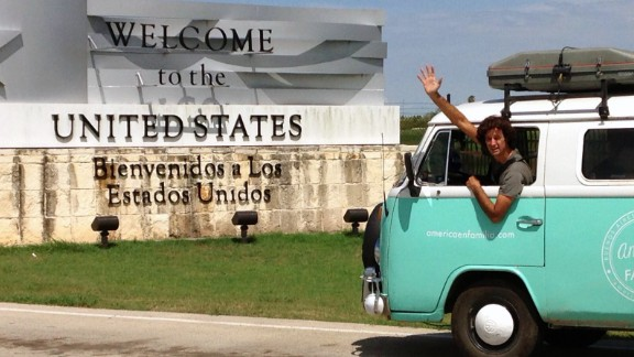 The Walkers finally made it to the U.S. border on August 30.
