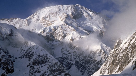 DENALI NATIONAL PARK, ALASKA - UNDATED:  General view of the West face of Mt. McKinley in Denali National Park in Alaska.