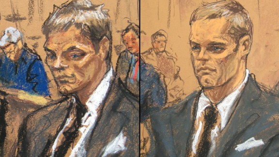 Jane Rosenberg's first courtroom portrait of Tom Brady, left, drew jeers; the second looks more like the QB.