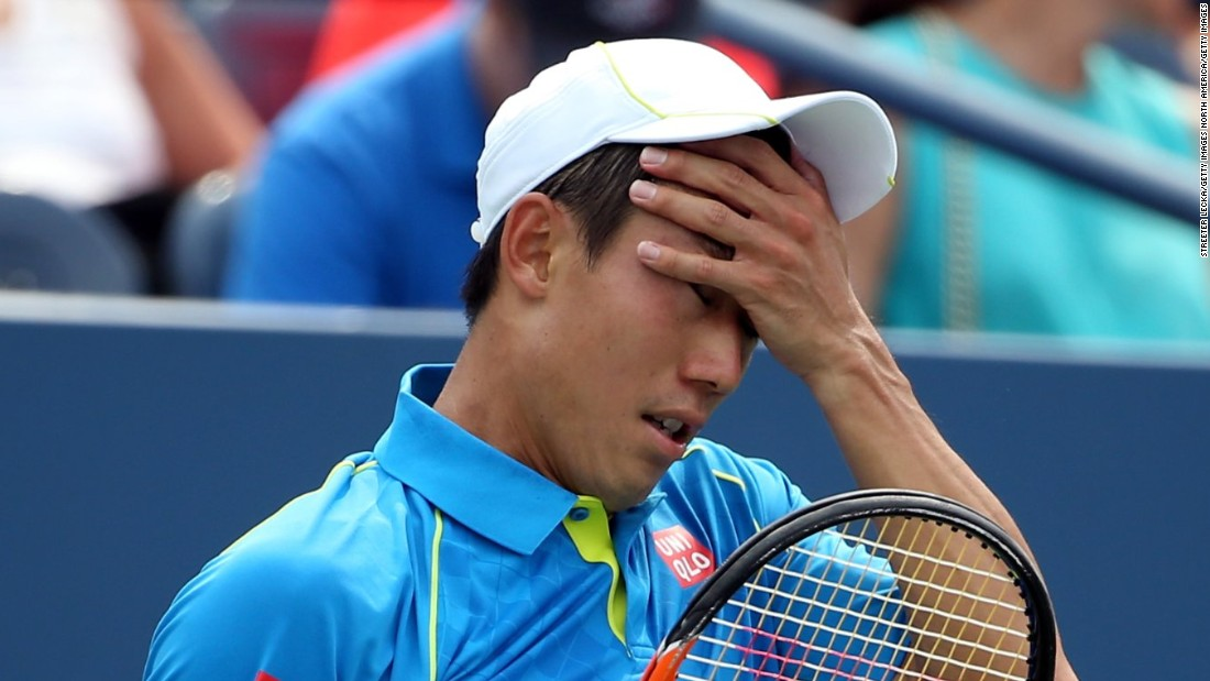 The 2015 U.S. Open began with a huge upset, as last year's men's finalist Kei Nishikori lost to Benoit Paire in five sets in New York.