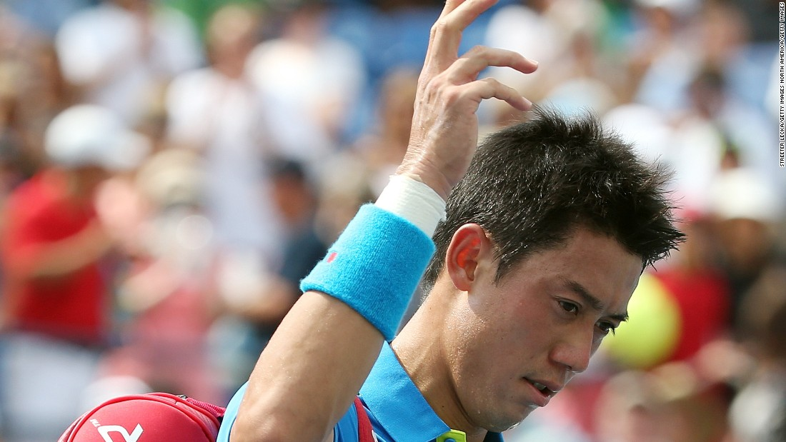 A dejected Nishikori entered this year's U.S. Open at No. 4, his highest ever ranking.