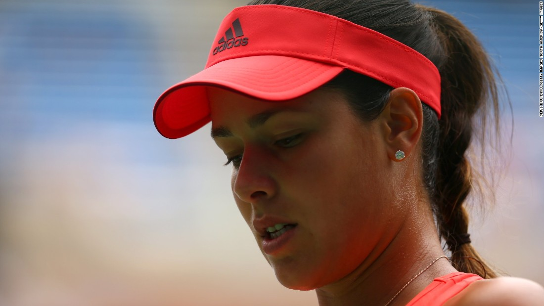 Ana Ivanovic, the former French Open champion seeded seventh, joined Nishikori on the sidelines.