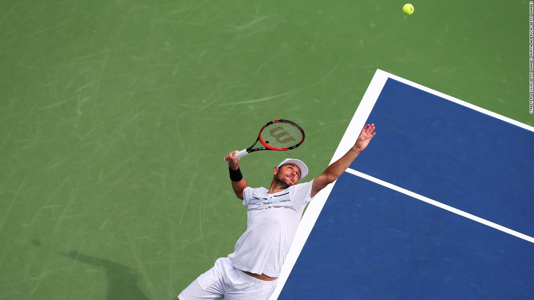 Mardy Fish, a former top-10 player, was another winner. Fish, afflicted by a heart ailment and anxiety in recent years, is playing in his final tournament.
