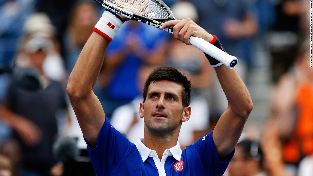 Djokovic is bidding to become the second man in the last 45 years -- after Roger Federer -- to play in all four major finals in one season.