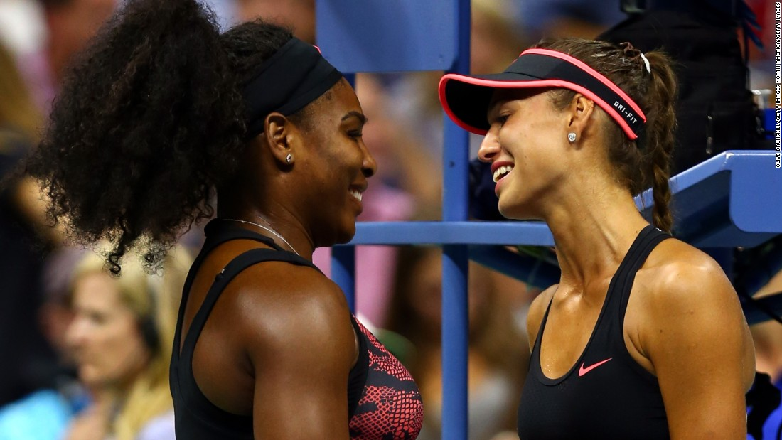 Defending champion Serena Williams needed just 30 minutes to see off Russia's Vitalia Diatchenko in the first round.