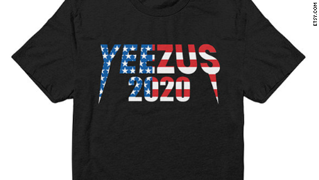 Kanye West Taylor Swift 2020 Yeezus For President Merch Now Available Cnnpolitics