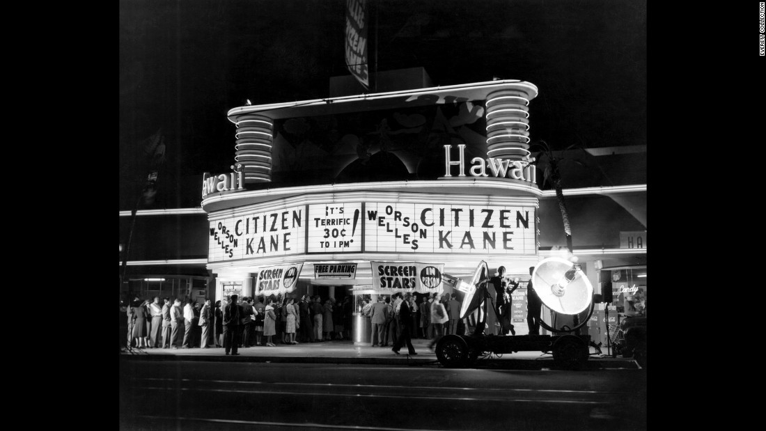 Citizen kane one of the all time