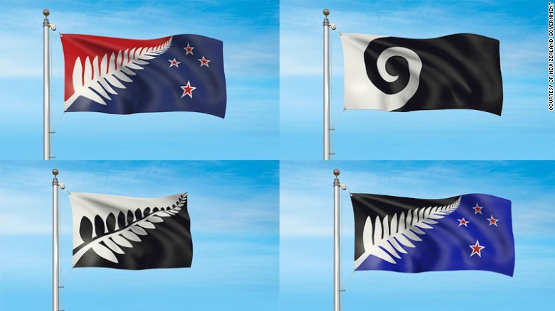 Image result for cnn candidates for new nz flag