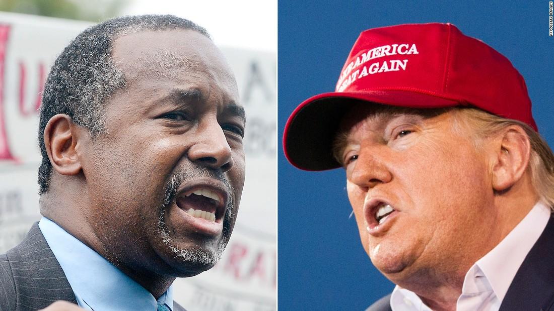 Would Ben Carson make Donald Trump his vice president?