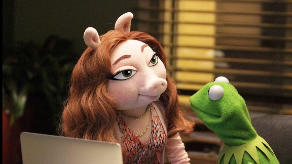 Kermit the Frog and Miss Piggy broke up in early August, and Kermit has been reported to be seeing an ABC marketer named Denise, according to a People magazine story -- though he says they are just friends. It's a new wrinkle in what was once a great felt-covered love story. Click through to see more.