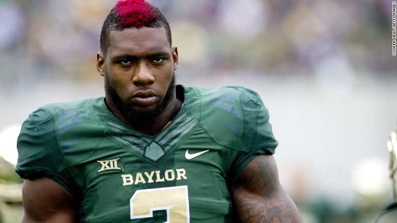 Ex-Baylor football player Shawn Oakman was indicted in a sexual assault case in 2016.