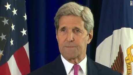 Secretary of State John Kerry was in charge of negotiating for the U.S.