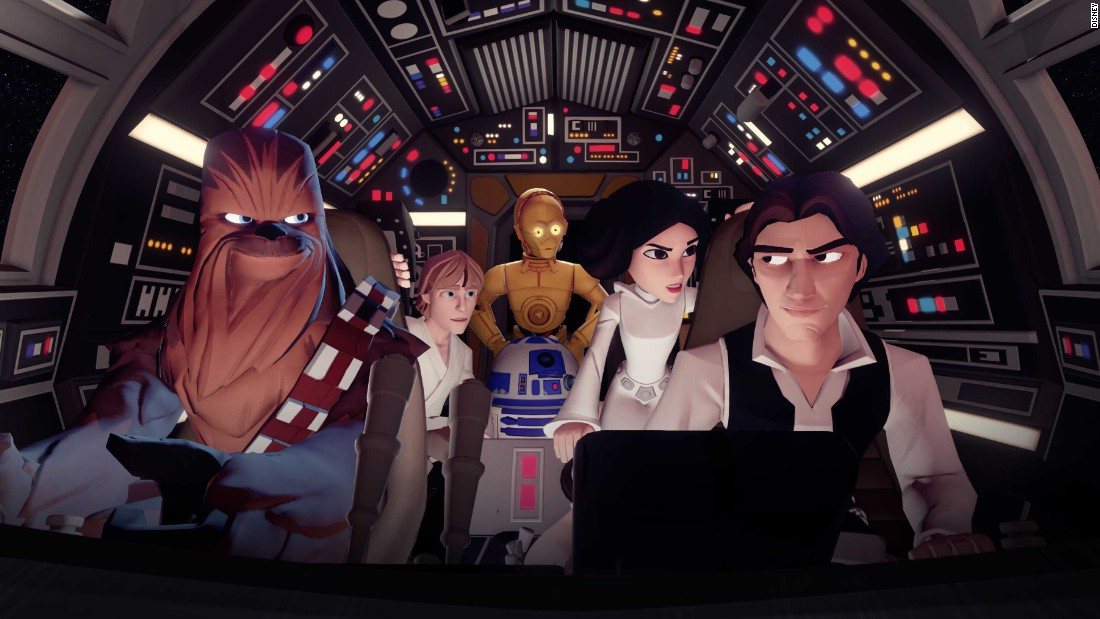"""Disney Infinity 3.0,"" the massive game with Disney characters, just added ""Star Wars"" characters, making it that much cooler."
