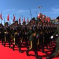 soldiers china parade