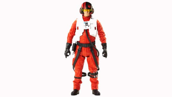 This figure is the greatest pilot in the galaxy, Poe.
