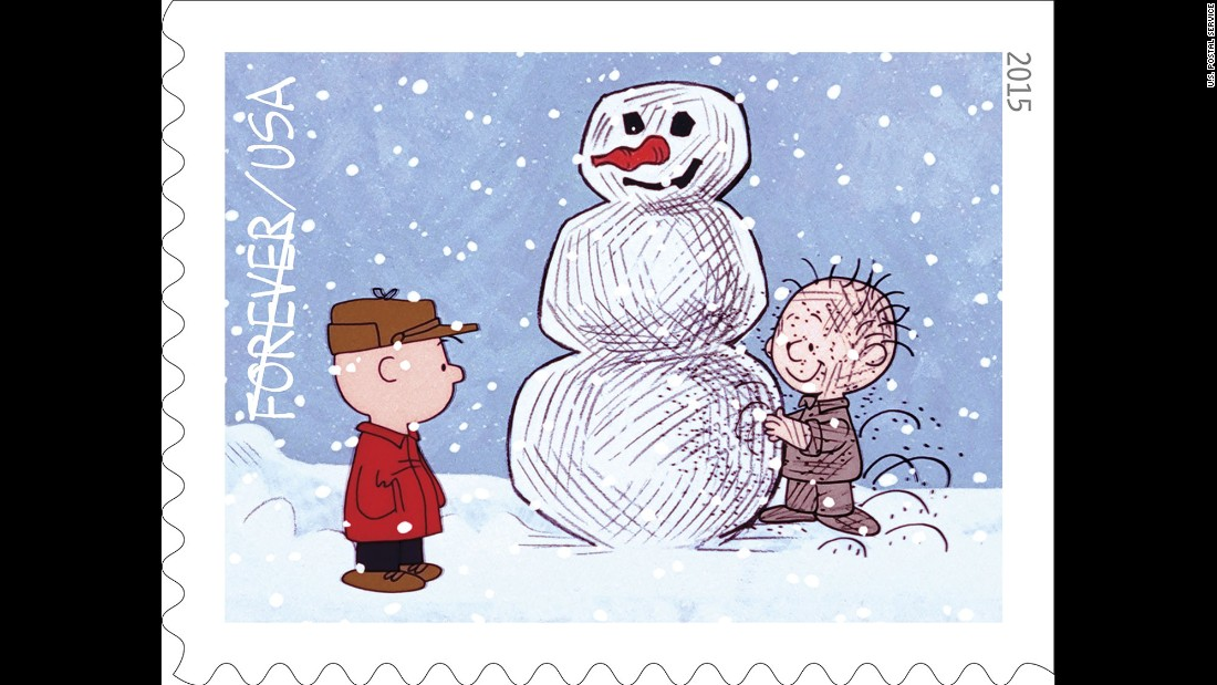charlie brown watches pigpen his perpetually dirty classmate build a snowman