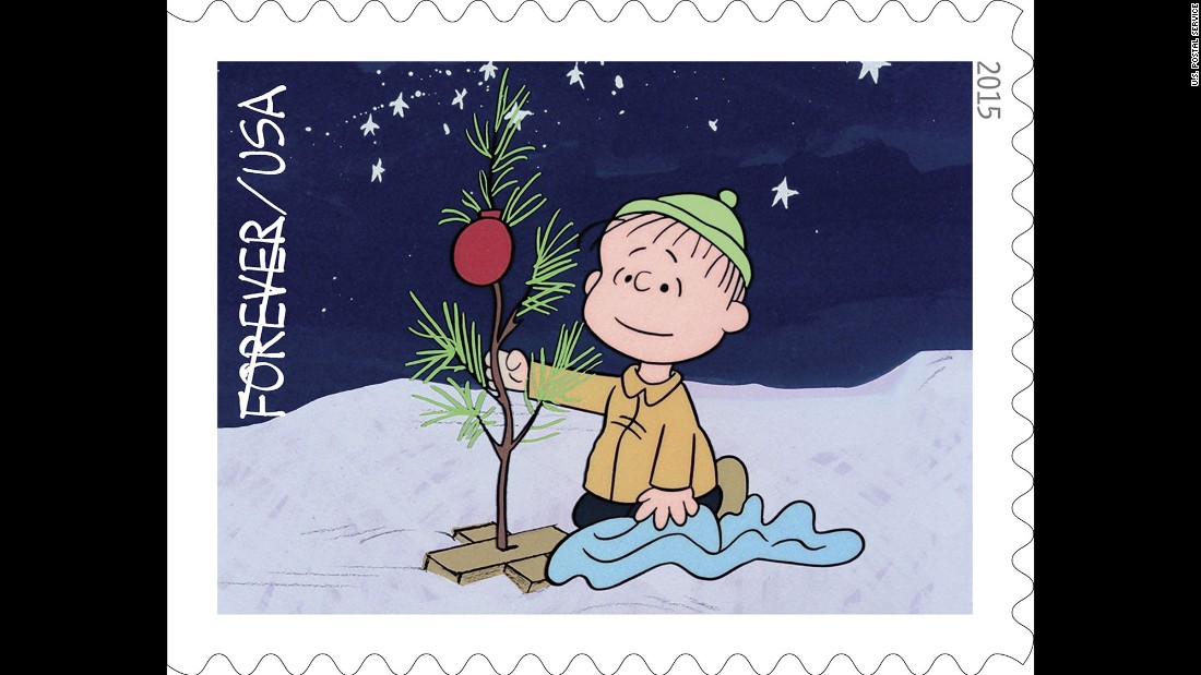linus is an early supporter of charlie browns tree earlier