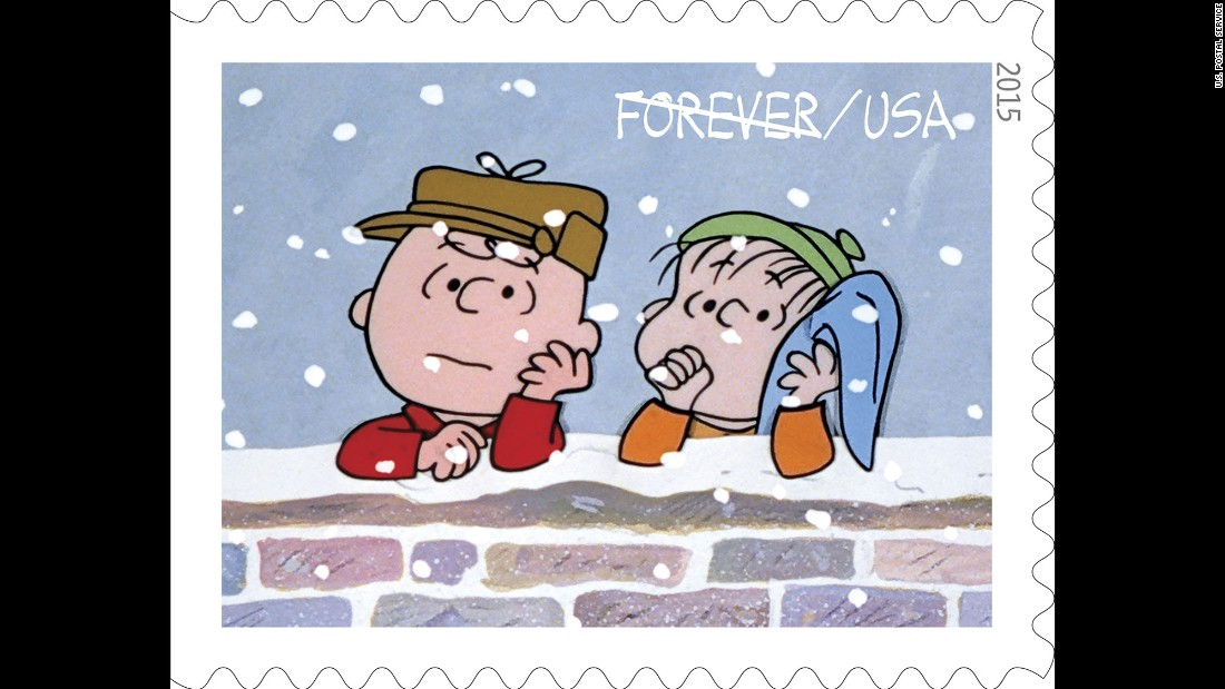 as the tv special begins charlie brown here with linus is depressed about the